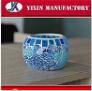 Qualitäts-große im Freienmosaik-Kerze-Halterungen Glas