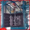 Machine à crochet de grenaillage pour la surface en métal de nettoyage