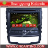 Auto DVD Player voor Pure Android 4.4 Car DVD Player met A9 GPS Bluetooth van cpu Capacitive Touch Screen voor Ssangyong Kolando (advertentie-7060)