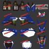 Sporcizia Bike Stickers&Motorbike&Motocross Stickers per YAMAHA Yz125-250 Motorcycle Suit 2002 2003&2004&2005&2006&2007&2008&2009&2010&2011&2012&2013&2014 (DST0003)