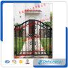 Diseño europeo de la puerta del hierro labrado del estilo