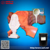 Tempos de alta duplicação de borracha de silicone líquido para fabricação de moldes para produtos de poliuretano de concreto e concreto