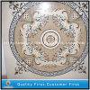磨かれたWaterjet大理石の円形浮彫りパターン