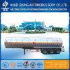 Qxc9402gry tres ejes del depósito de combustible de aleación de aluminio semi remolque