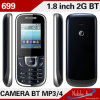 O mais baixo Price Dual Cards 1.77inch Elderly Bar Phone (699)