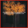 صفراء زخرفة عيد ميلاد المسيح مع [س/روهس] [لد] [شرّي بلوسّوم] شجرة ضوء