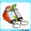 Превосходное USB-накопитель из натуральной кожи с цепочки ключей (ZYF1401)