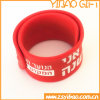 Les bracelets respectueux de l'environnement de claque de silicones vendent en gros