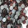 中国の水晶ラインストーンHotfixは卸し売り軽いバーガンディSs6 Ss16に投石する
