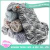 Commerce de gros tissés personnalisés tricot dame d'hiver Foulard en polyester