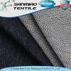 Spandex respirabile del cotone 4 dell'azzurro di indaco di comodità 96 che lavora a maglia il tessuto lavorato a maglia del denim per i pantaloni