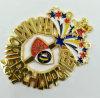 Emblema de moldação cortado celebração do carnaval