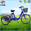 أرجوحة [فوكأيشن] 3 عجلة درّاجة درّاجة ثلاثية كهربائيّة مع [لد] ضوء