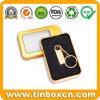 L'oro metallico inscatola il contenitore di metallo per il disco istantaneo del USB