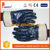Ddsafety 2017 Blau-Nitril-völlig eingetauchter Arbeits-Handschuh