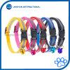 6 Kraag van de Kat van de Hond van kleuren de Regelbare met de Nylon Weerspiegelende Riem van de Klok