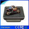 Azionamento istantaneo della penna del USB di figura di gomma del motociclo dei campioni liberi