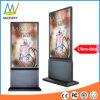 Экран дисплея стойки пола 55 дюймов крытый рекламируя (MW-551APN)