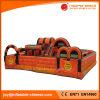 Aufblasbarer orange Hindernis-Kurs-Prahler für Vergnügungspark (T6-205)