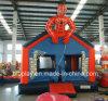 Rebondissement gonflable populaire d'homme d'araignée pour des gosses