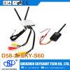D58-2 5.8GHz Fpv Diversity Receiver Sky-S60 OSD Transmitter para Hobbyking Skyzone Transmitter RC Planes