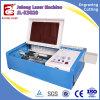 Macchina per incidere del laser del timbro di gomma di alta qualità con il tubo del laser di vetro del CO2 da vendere