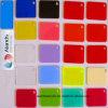 Hoja de PMMA de tamaño y color personalizado