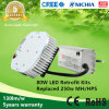 Replace 250W Metal Halide Lamps에 130lm/W 80W LED Retrofit Kits