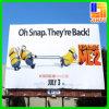 Exhibición grande de la bandera de la cartelera del PVC de la aduana para hacer publicidad