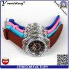 Relógio dos Wristbands do bracelete do silicone da luz da venda por atacado da fábrica do relógio de pulso do silicone Yxl-694