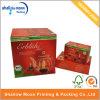 Boîte de papier ondulée de empaquetage adaptée aux besoins du client de pot de thé d'impression (QYCI15218)