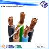Bas Voltage/PVC câble flexible engainé/à un noyau d'Insualted/PVC