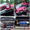 Утвержденном CE 4X4 электрический 13000лебедки фунта стальной трос лебедки для Jeep Wrangler вне дорог