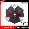 Acoplamento preto flexível de alumínio triangular para Kubota 115 17t