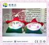 Brinquedo de Natal engraçado Brinquedo eletrônico colorido da estrela de pelúcia LED