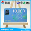 Smart card do plástico do tamanho do cartão de crédito