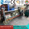 Mclw11stnc-8X2000 em uma máquina de dobra inteiramente hidráulica da placa do CNC, universal superior do rolo de Hydrauli