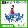 養樹園の家具の木製の青い子供表(SF-01C)