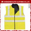 Veste de sécurité jaune fluorescente de protection respiratoire (ELTHVVI-14)