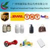敏感な商品は貨物費用のDHL UPS TNT EMSの中国からのパラグアイに明白な出荷配達を指示する