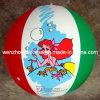 Bola de playa inflable del PVC de 16 pulgadas