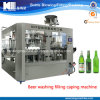 Máquina de embotellado automática del vidrio de cerveza