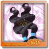 100%年のVirginのブラジル人の自然なBlack Hair