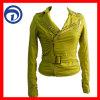 PU 숙녀의 재킷 형식 겨울 재킷 Qzydt Lp 12