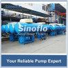 Pompe submersible de flottement d'eau de rivière de transfert de grande capacité