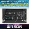 Witson Navigation für Nissans Juke (W2-D8900N)