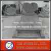 Lápida mortuaria y piedra sepulcral del granito del cementerio del estilo de Polonia