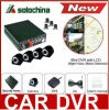 4 drahtloses 3G bewegliches DVR Internet des Kanal-H. 264 mit GPS, der für Auto, Bus, LKW aufspürt