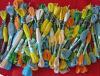 Хлопок Floss Thread для Cross Stitch 30s/2*6 8m/Skein