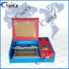 Mini macchina di bollo del laser di Ck400 40W per l'acrilico di gomma del compensato del MDF di legno